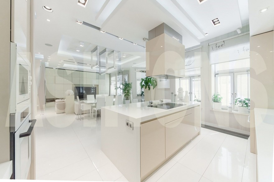 LUXURY APARTMENT FOR RENT IN RESIDENTIAL COMPLEX MALY GOLOVIN, 5 by REAL ESTATE AGENCY ASHTONS INTERNATIONAL REALTY