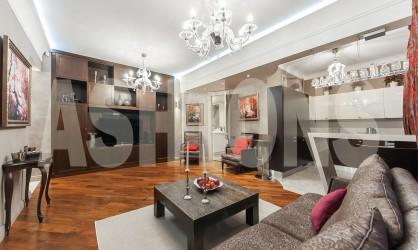 Аренда двухкомнатной квартиры в Хамовниках на улице 3-я Фрунзенская, дом 9