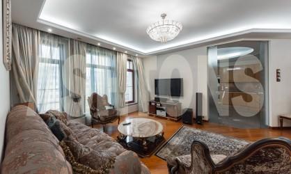 Аренда элитной квартиры на Плотниковом переулке, дом 21с1, ЦАО, район Арбат